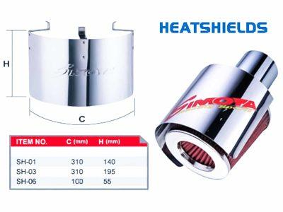 Simota Filter Heat Shields
