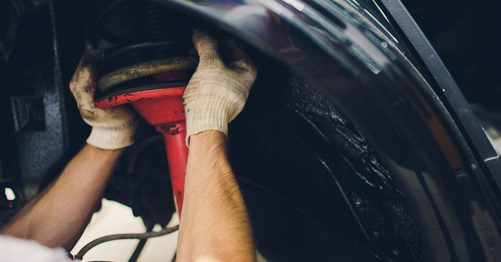 replace power steering rack on car